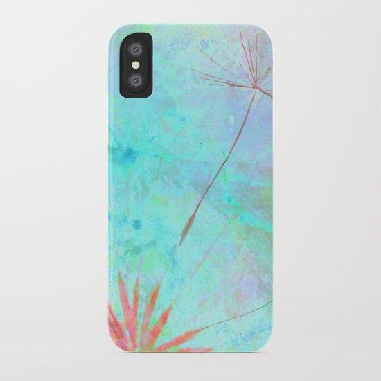 Paint A Dandelion iPhone Case