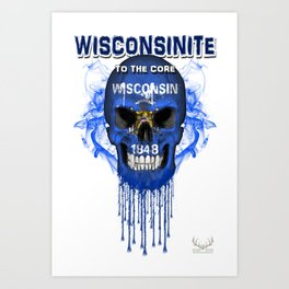 To The Core Collection: Wisconsin Art Print
