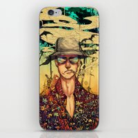 fear and loathing iPhone & iPod Skins featuring Fear and Loathing  by Mony