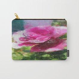 Rosas Moradas 4 Sketchy Carry-All Pouch
