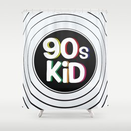 90s Kid Shower Curtain