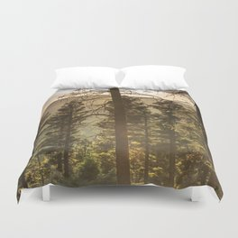 Mountain Forest New Mexico - Nature Photography Duvet Cover