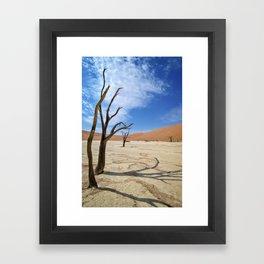 Deadvlei, Namibia Framed Art Print