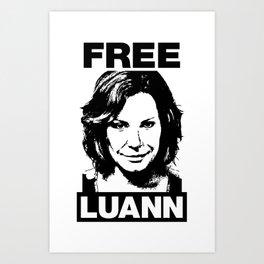 FREE LUANN Art Print