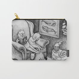 Whale Reader Carry-All Pouch