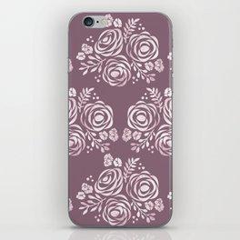 Seal of Roses iPhone Skin
