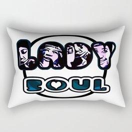 Lady Soul - Pink Rectangular Pillow