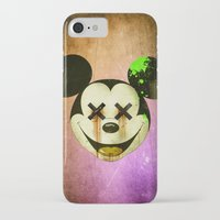 mickey iPhone & iPod Cases featuring Mickey by wrong planet