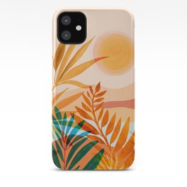Golden Greek Garden iPhone Case