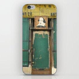 Paris Bookstore No. 2 iPhone Skin