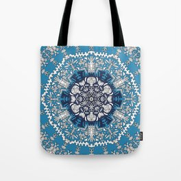Trance Dream - Maya (Double Blue Edition) Tote Bag