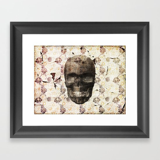 This Place is Death Framed Art Print