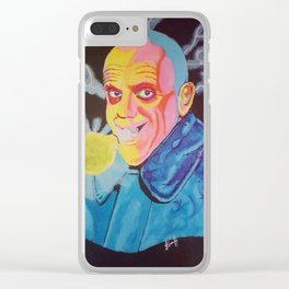 Uncle Fester Clear iPhone Case