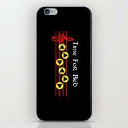 Time For Bed - Zeldas Lullaby (The Legend Of Zelda: Ocarina Of Time) iPhone Skin