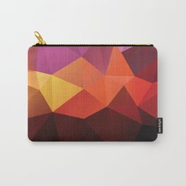 Abstract geometric triangle background Carry-All Pouch