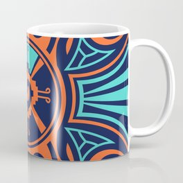 Colorful Hunab Ku Mayan symbol #2 Coffee Mug