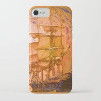 pirate ship iPhone & iPod Cases featuring pirate ship by Vector Art