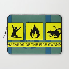 Hazards of the Fire Swamp Laptop Sleeve