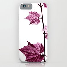 wine leaf abstract I Slim Case iPhone 6