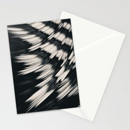 Zebra Strain. Abstract Zebra Stripes Stationery Cards