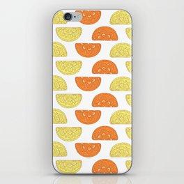 Orange Slices Pattern iPhone Skin