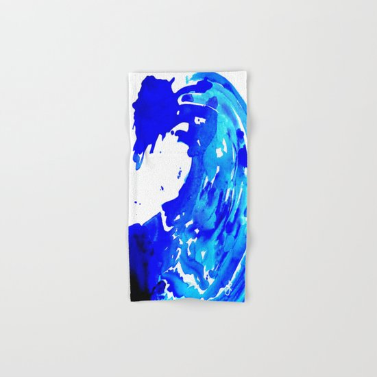 Save The Water Watercolour Hand & Bath Towel