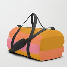 Retro Rainbow 89 Duffle Bag