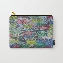 Abstract colored painting Carry-All Pouch