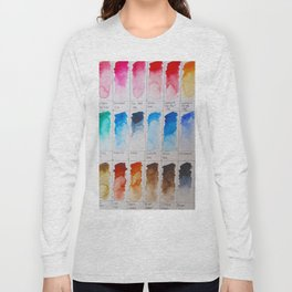 Watercolor Swatches Long Sleeve T-shirt