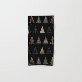MODERN CHRISTMAS TREES 2 Hand & Bath Towel