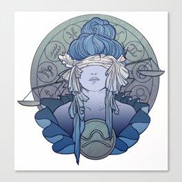 Zodiac Series | Libra Canvas Print