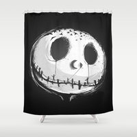 nightmare Shower Curtains featuring Nightmare by Alberto Arni