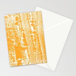 Orange creamsicle Splatter Splash Decor Stationery Cards