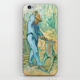 Van Gogh, The Woodcutter, 1889 iPhone Skin