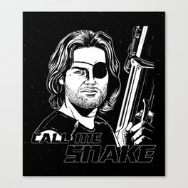 Call Me Snake Canvas Print