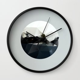 Island at Sea Wall Clock