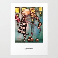 Non-robotic Art Print