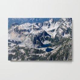 Mountain Lakes3 Metal Print