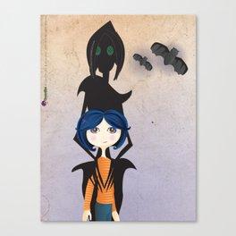 Coraline Canvas Print