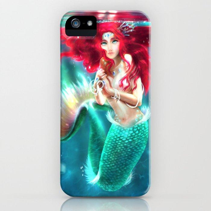 Mermaid underwater iPhone Case