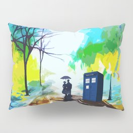 Tardis Love Art Story Pillow Sham