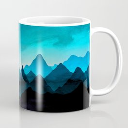 Night Storm In The Mountains Coffee Mug