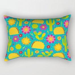 Taco Garden Rectangular Pillow