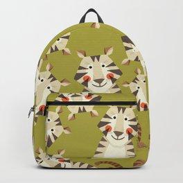 Tiger, Animal Portrait Backpack