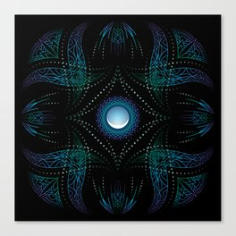 energy moon Canvas Print