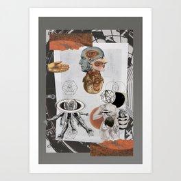 plastic dreams / sueños plásticos  Art Print