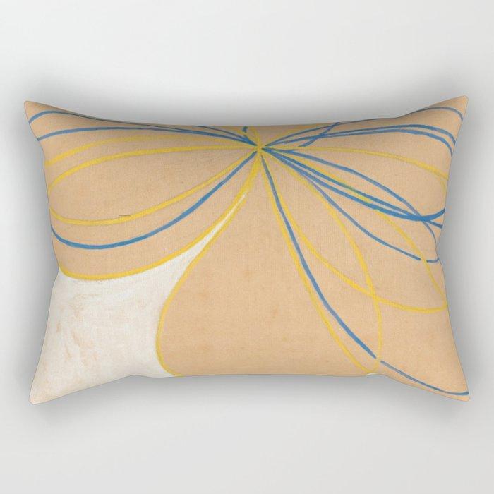 Hilma Af Klint The Seven Pointed Star Rectangular Pillow