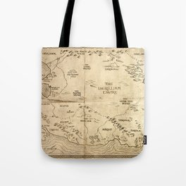Map of Imirillia Tote Bag