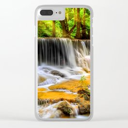 Beauty Forest Clear iPhone Case