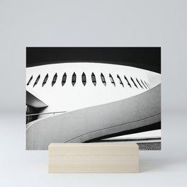 Le Havre | Niemeyer architect | Le Volcan Mini Art Print